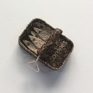 Woven wire Tin of Sardines